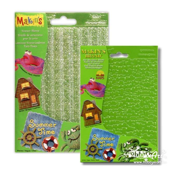 Fogli per texture 4 pezzi - Makin's Set A