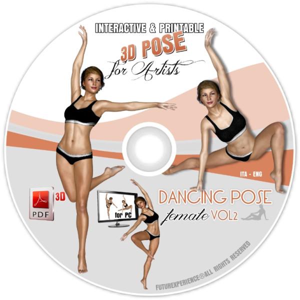 OOAK DANCING POSE (Female) Vol. 2