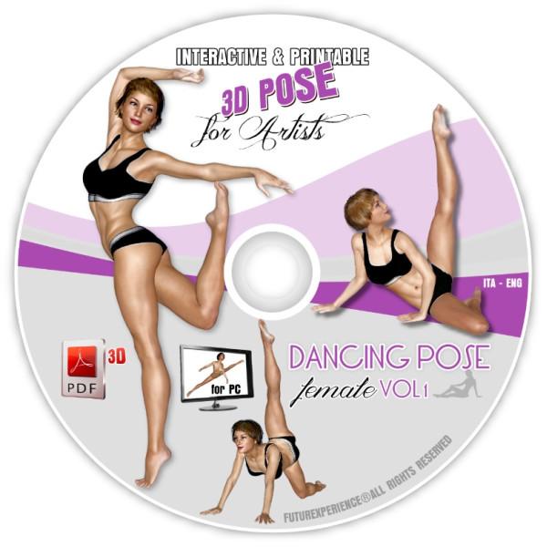 OOAK DANCING POSE (Female) Vol. 1