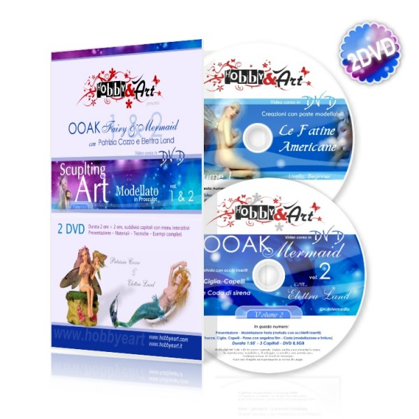 DVD OOAK 1 e 2 (doppio DVD)