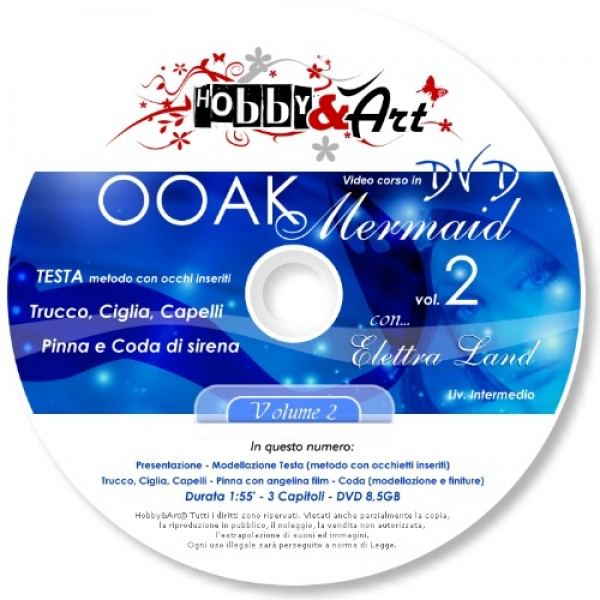 DVD OOAK 2 - Mermaid