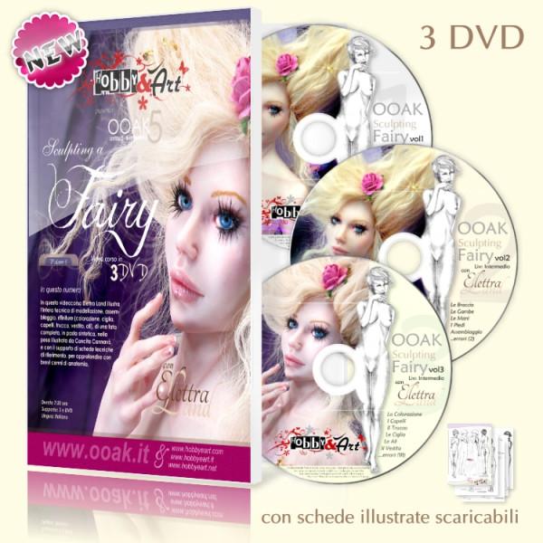 DVD OOAK Fairy - 3 DVD * Beg. + Interm.
