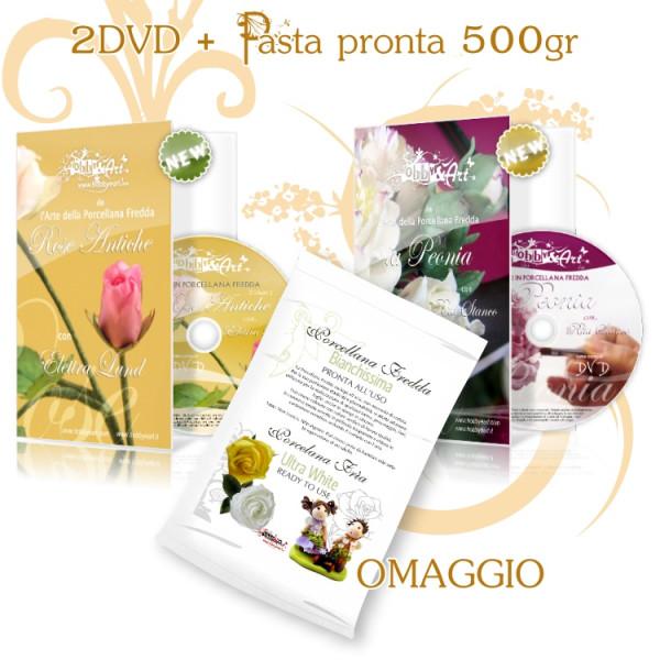 DVD Rose + DVD Peonie + Pasta omaggio