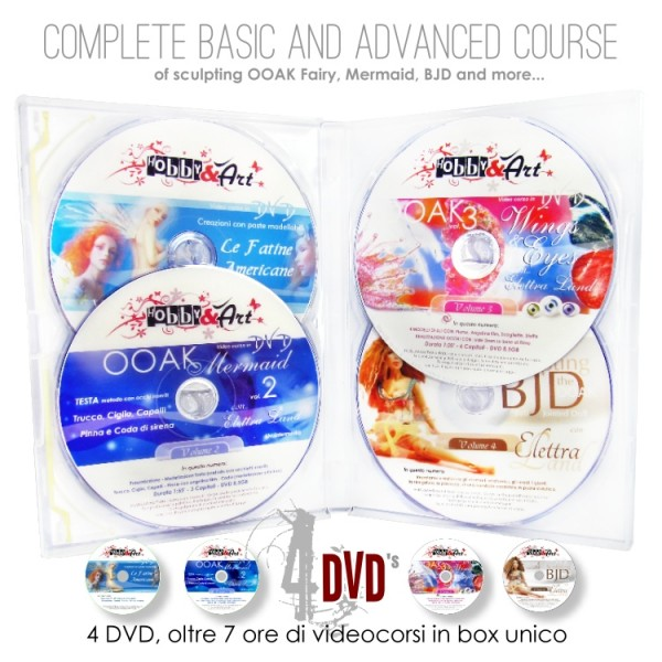OOAK Special Edition - 4 DVD di Scultura
