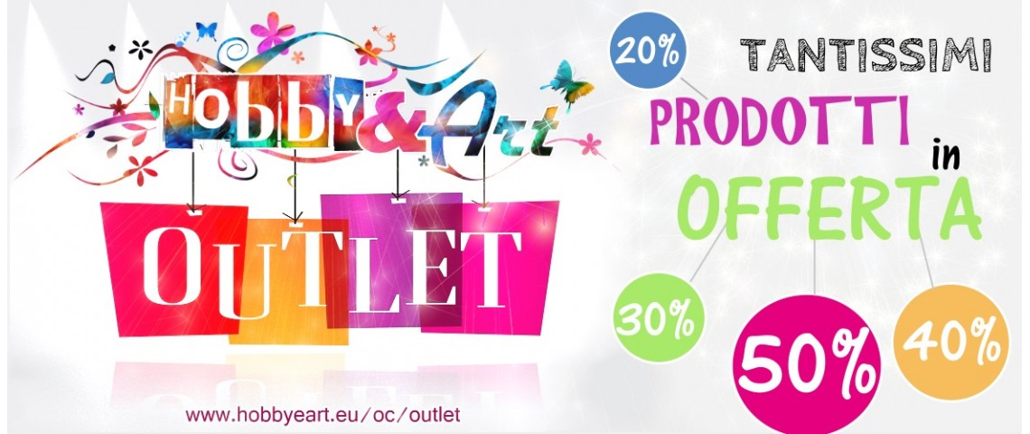 Offerte irripetibili all'outlet