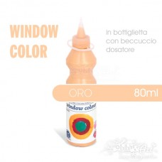 Window Color 80ml - Oro