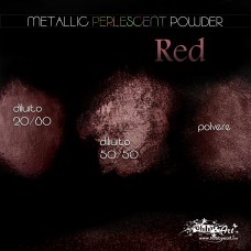 Metallic Perlescent Powder - Red