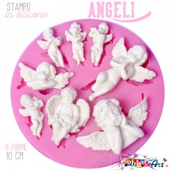 Stampo in silicone - 8 Angeli