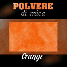 Pigmento in Polvere di Mica - ORANGE