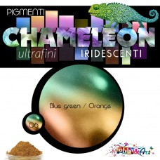 CHAMELEON - Pigmento iridescente 06 Blue green / Orange yellow