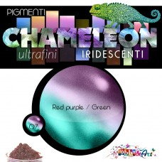 CHAMELEON - Pigmento iridescente 07 Red purple / Green