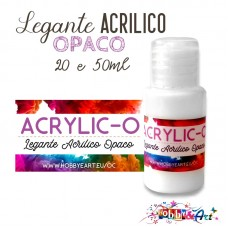 Acrylic-O Legante opaco all'acqua - 10 ml