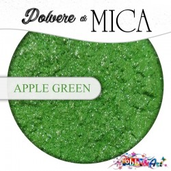 Pigmento in Polvere di Mica - APPLE GREEN