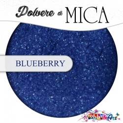 Pigmento in Polvere di Mica - BLUEBERRY