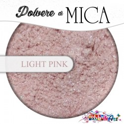 Pigmento in Polvere di Mica - LIGHT PINK