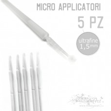 Micro applicatore ultra-fine - 1,5mm - 5 pezzi