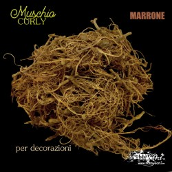 Muschio Curly Marrone