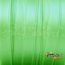 Nastro in raso doppio 10 mm VERDE LIME - 5mt