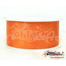 Nastro in voile 38 mm ARANCIO - 5 mt