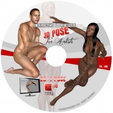 3D POSE for ARTIST Vol1 - 20+1 pose stampabili